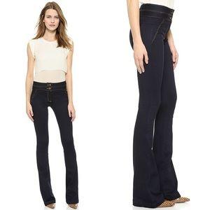 • Veronica Beard • High Waisted Flare Jeans Indigo